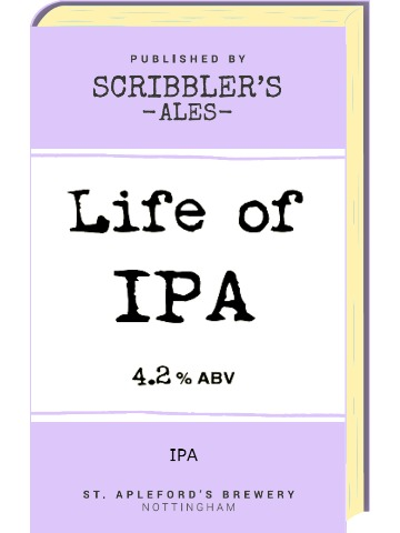 Pumpclip image for Scribblers Life of IPA