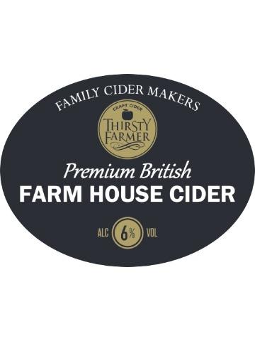 Pumpclip image for Thirsty Farmer Premium Farmhouse Cider