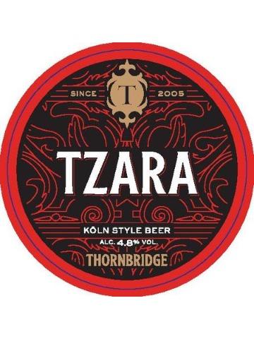 Pumpclip image for Thornbridge Tzara