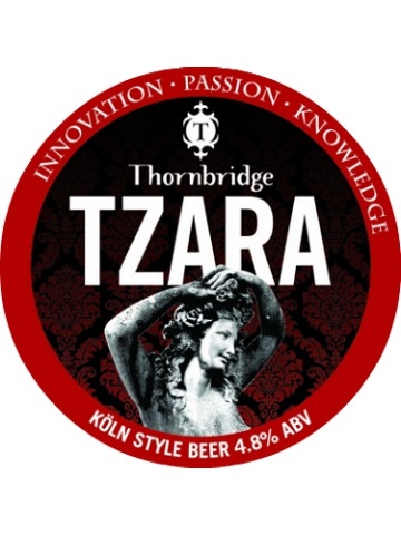 Pumpclip image for Thornbridge Tzara