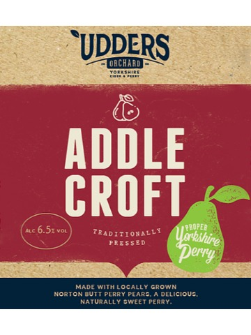Pumpclip image for Udders Orchard Addle Croft