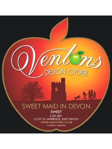 Pumpclip image for Venton's Sweet Maid in Devon