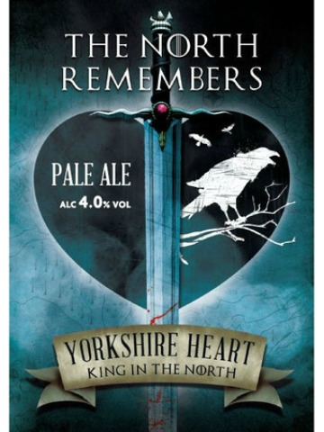 Pumpclip image for Yorkshire Heart The North Remembers