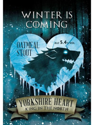 Pumpclip image for Yorkshire Heart Winter is Coming