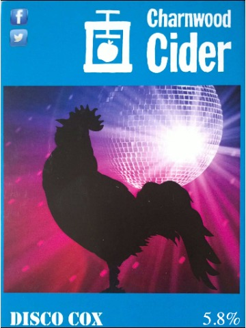 Pumpclip image for Charnwood Cider Disco Cox