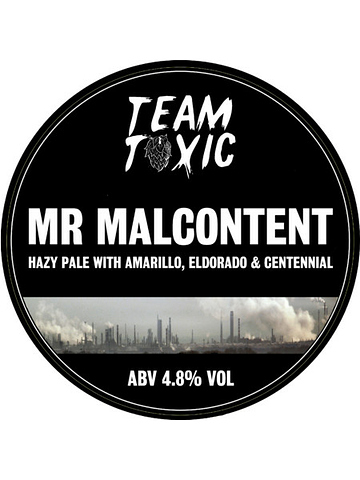 Pumpclip image for Team Toxic Mr Malcontent