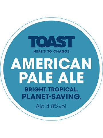 Pumpclip image for Toast Ale American Pale Ale