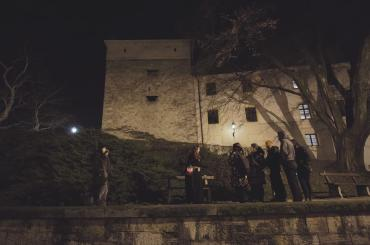 During the tour of upper town, you'll hear the secret stories of witches and knights, ghosts and sleeping dragons