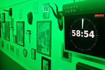 With just one hour to escape the room, will you perform under pressure?