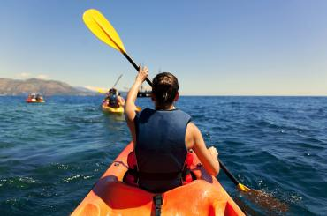 You'll be kayaking from Starigrad to Vinjerac