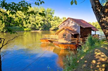 The mill on the Mura River is the only watermill in Croatia and has a mechanism that dates back to 1902.