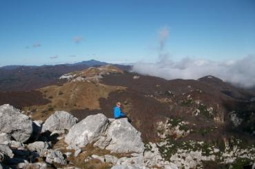 Via Dinarica hikers get to rest at high altitude of Mount Radeševo