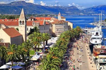 You'll be visiting the UNESCO protected city-island of Trogir and finding out about its rich Greek, Roman and Venetian history