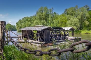You'll be quad biking to an impressive wooden watermill on the bank of the Mura River, dating back to 1902.
