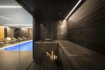 Feel free to use the sauna or the swimming pool whenever you wish to
