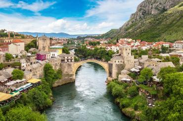 A field trip outside of Croatia just over to Mostar will take you to the Old Bridge, another UNESCO World Heritage site