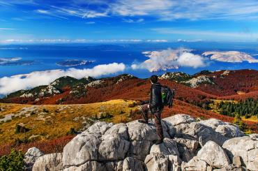 The hiking trails are different and adapted both to the experienced and recreational hikers, and come with breathtaking views