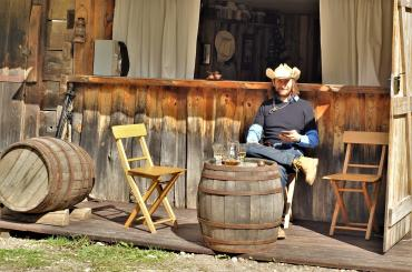 The cowboy life isn't always in the saddle