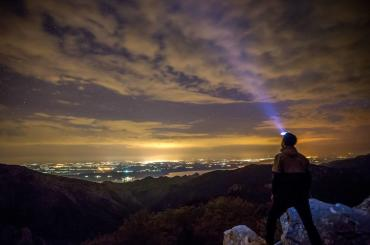Night strolling in the mountains will provide you with a perfect opportunity to really connect with the nature