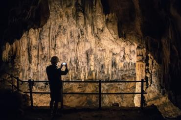 For 2 hours, you'll dip underground to the Barać caves, where it's constantly 9 deg Celsius.