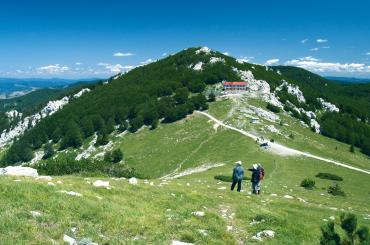Zavižan mountain lodge in north Velebit is one of the places where you'll be staying over night