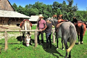 When staying on the ranch, it's quite possible you'll quickly get immersed into the cowboy and cowgirl life