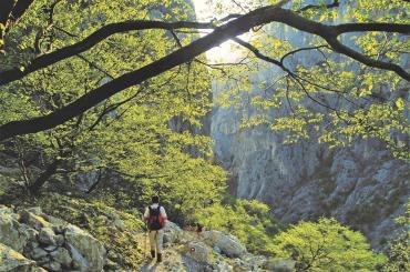 Trekking through the amazing Paklenica National Park