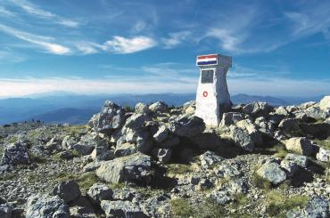 Are you going to climb the highest peak in Croatia and touch the landmark?