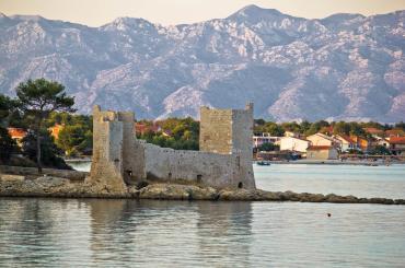 Kaštelin fortress is a must-see landmark on the island of Vir