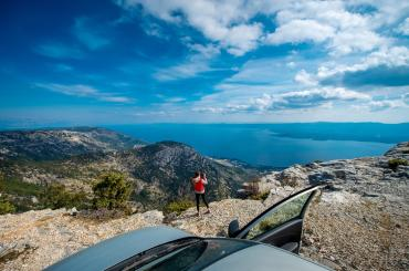 Do you like the view from the top? Vidova Gora is the highest island mountain peak in the entire Adriatic