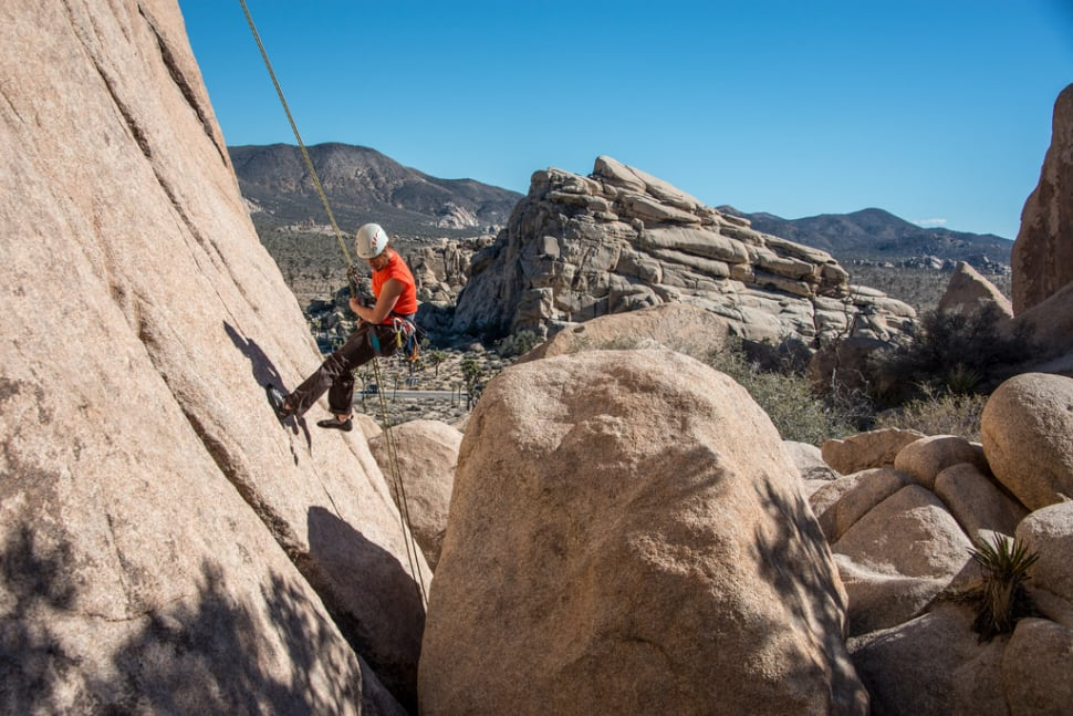 Best time for Joshua Tree Rock Climbing in Los Angeles 2018 Map