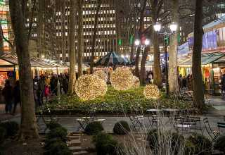 ​Winter Village at Bryant Park