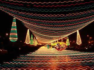 Christmas Lights (Alumbrados) in Medellín