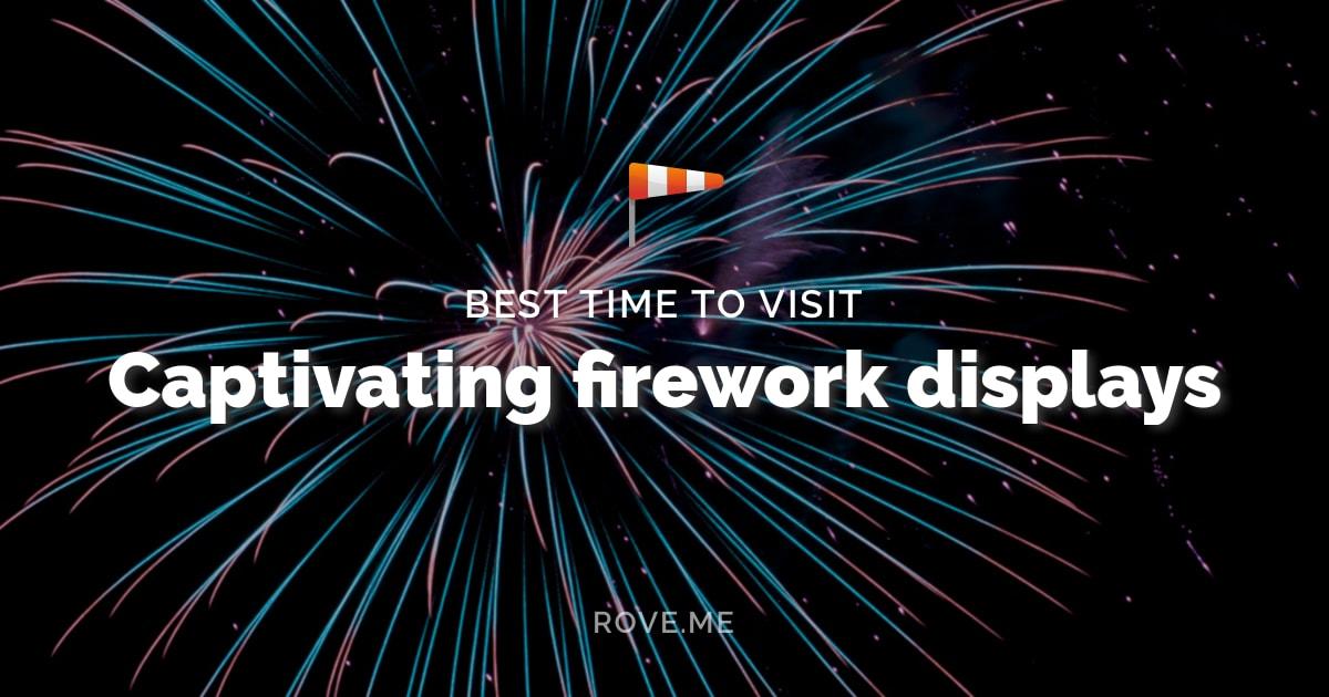 Captivating firework displays 2020 | Rove.me