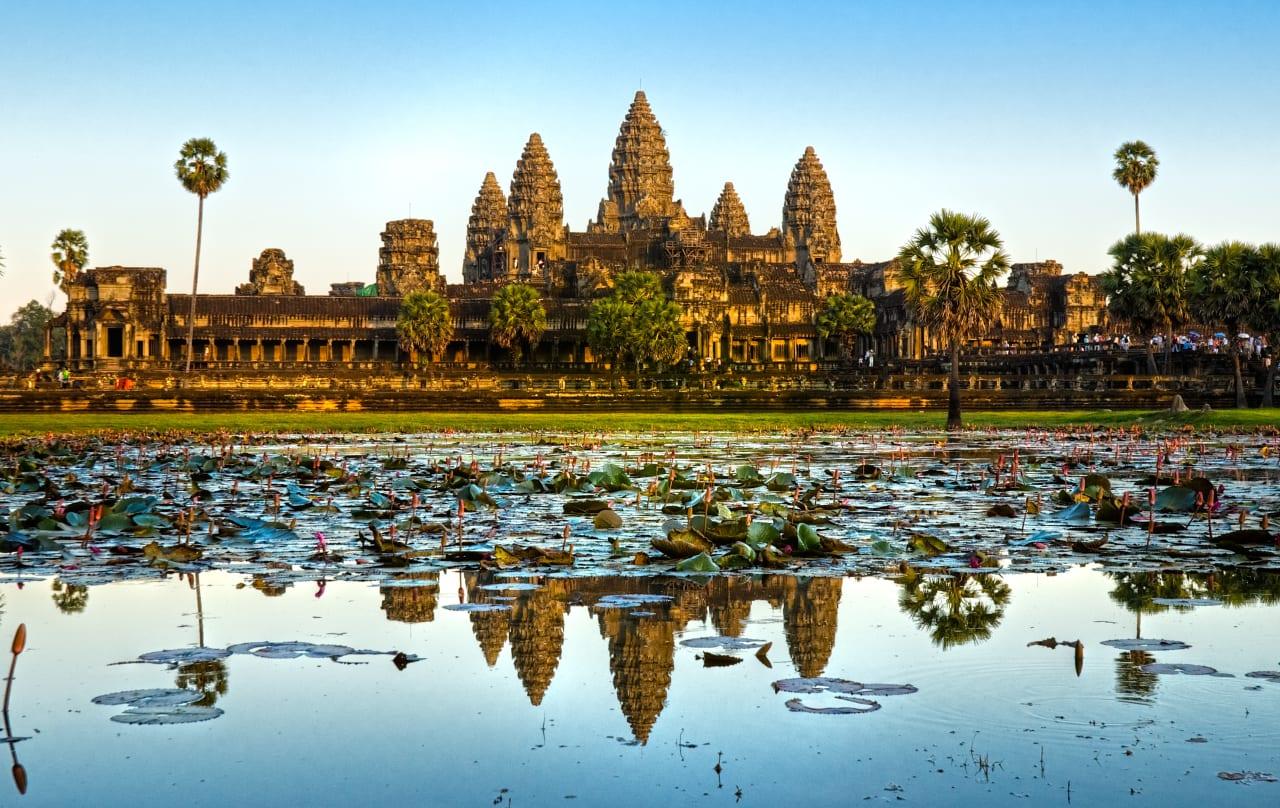 Angkor Wat e Siem Reap