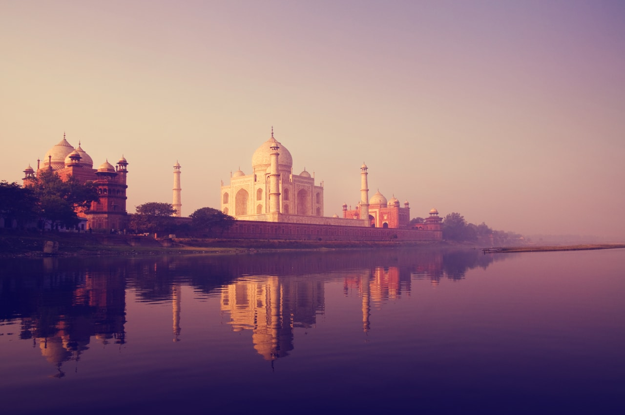 Taj Mahal and Agra