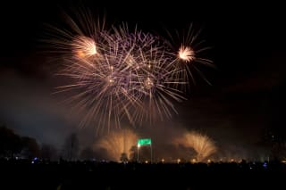 Tower Hamlets Fireworks at Victoria Park