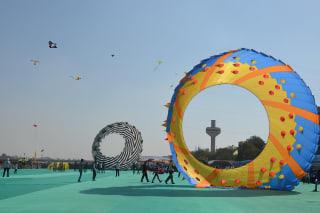 International Kite Festival (Uttarayan)