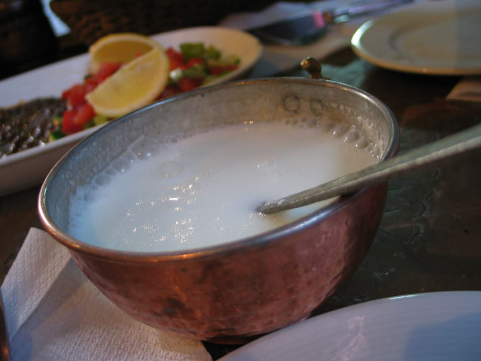 Cold Ayran on a Hot Day in Istanbul - Best Season