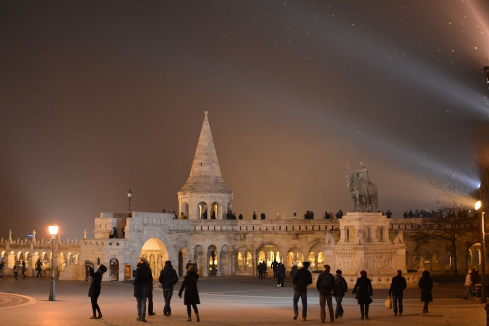 Best time for Winter Wonderland at the Fisherman's Bastion in Budapest