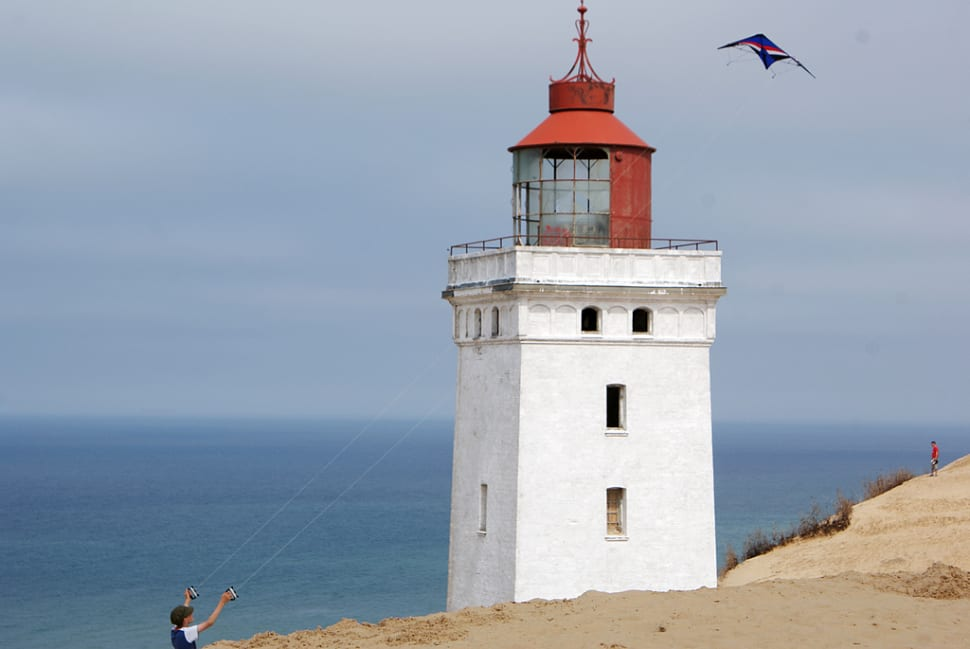 Best time to see Rubjerg Knude Lighthouse in Denmark