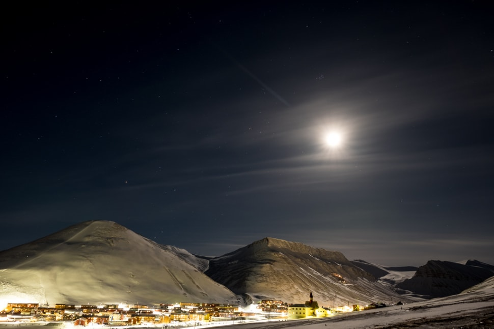 Best time for Polar Night in Svalbard
