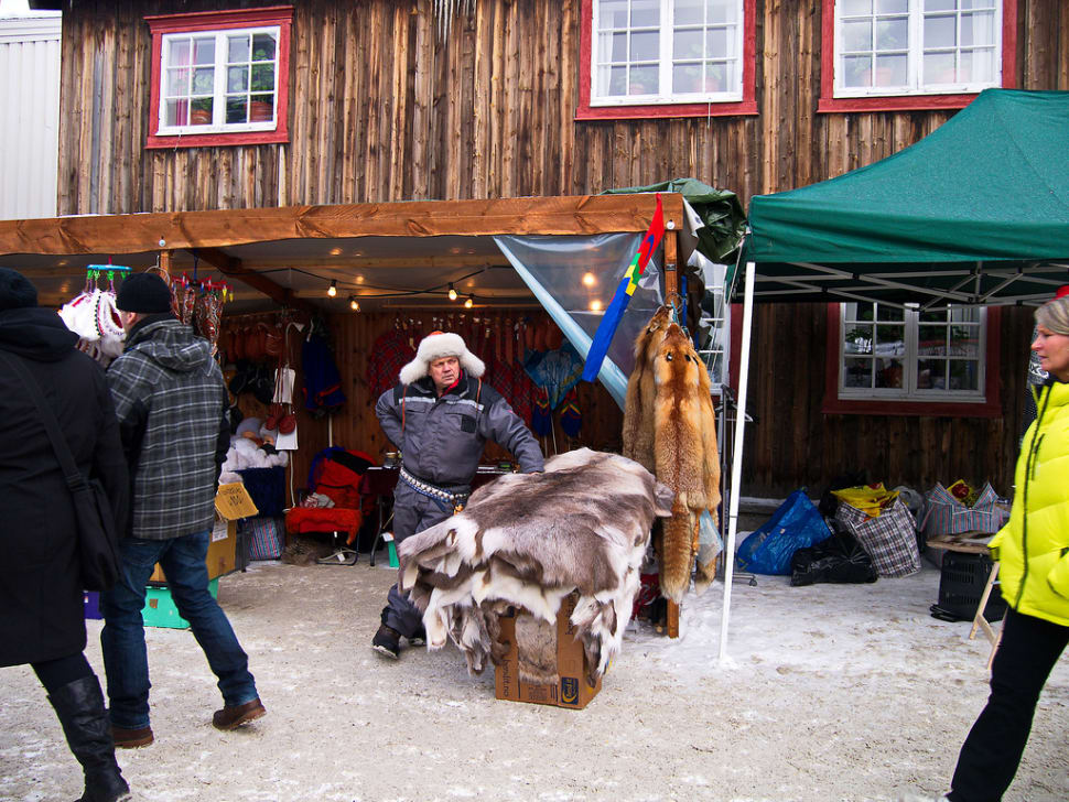 Best time to see Rørosmartnan or Røros Fair