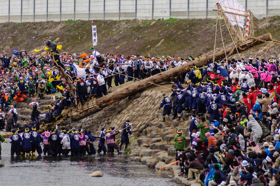 Onbashira Festival in Japan - Best Time