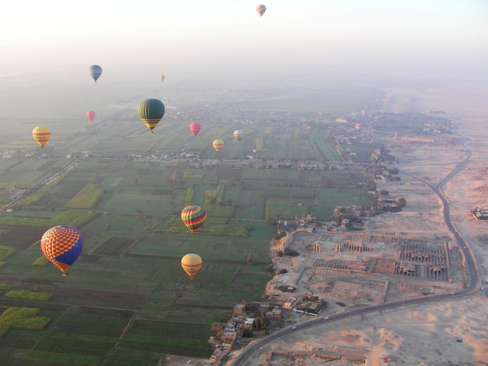 Best time to see Hot Air Balloon Festival in Luxor in Egypt