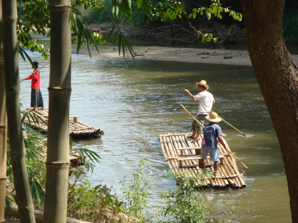 Bamboo Rafting During Dry Season in Thailand - Best Time