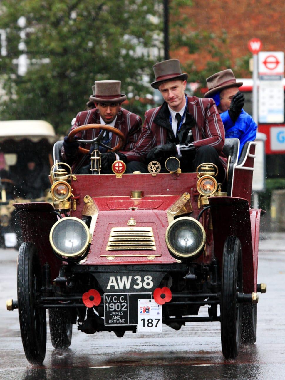 London to Brighton Veteran Car Run 2018 in England - Dates & Map