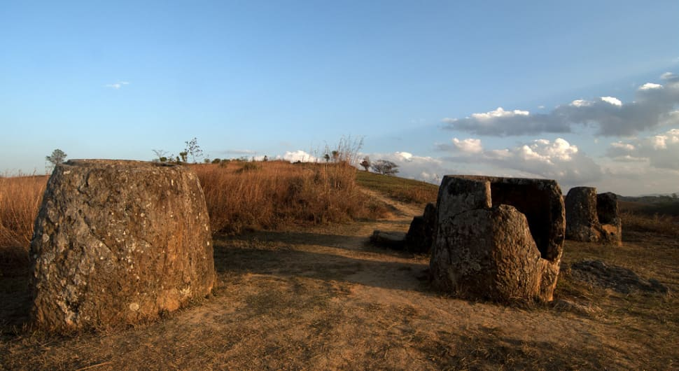 Best time for The Plain of Jars in Laos