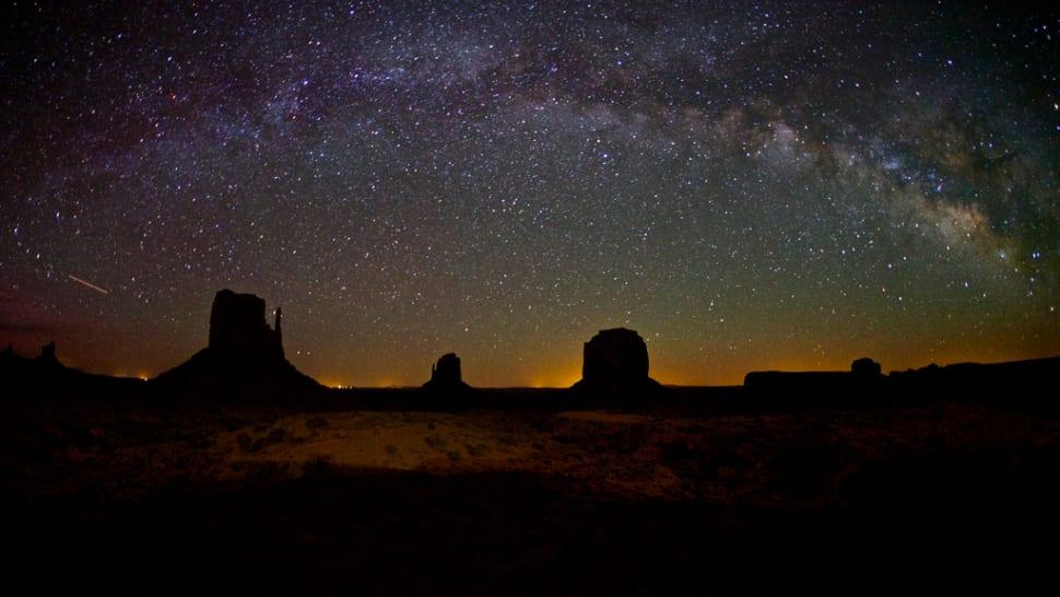 Milky Way, Monument Valley, Utah