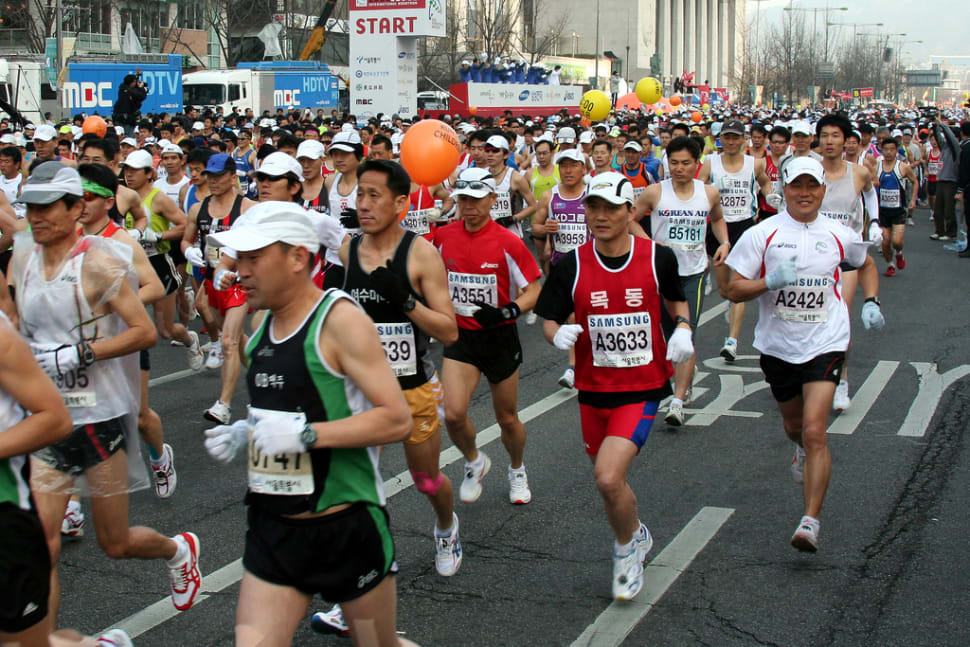 Things to do in Seoul : Seoul International Marathon